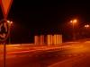 Kreisel Dagmersellen von Urs Heinrich bei Nacht