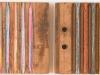 Mischtechnik auf Zigarrenpresse von Urs Heinrich