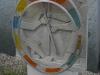 Grabstein mit Glasring vorgesetzt - Urs Heinrich