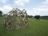 Holzobjekt Omba von Urs Heinrich