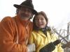 Künstler mit Julie wird selbst zum Objekt - Urs Heinrich