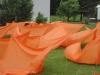 Windperformance von Urs Heinrich mit 70 Gästen