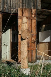 Holzobjekt EI